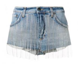 Shorts con strass