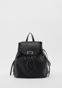 Zaino donna GAUDì nero con borchie
