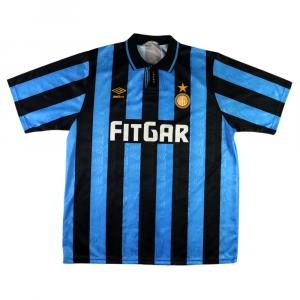 1991-92 Inter Maglia Home XL (Top)