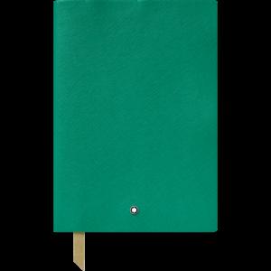 Blocco note #146 verde smeraldo, a righe, Cancelleria di lusso Montblanc