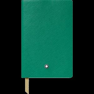 Blocco note #148 Verde smeraldo, a righe Cancelleria di lusso Montblanc
