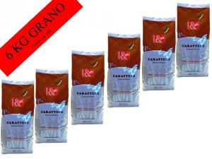 CAFFE' GRANO 6 x gr 1000