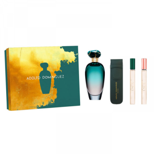 Adolfo Dominguez Única Eau De Toilete Spray 100ml Set 4 Parti 2019