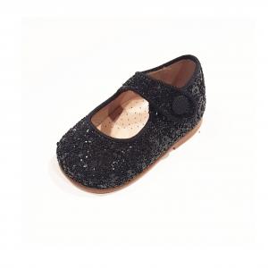 Scarpe a sandalo glitterate