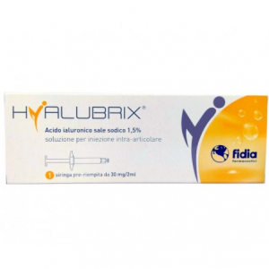 Hyalubrix 30 siringa con acido ialuronico 30mg/2mL 1 siringa