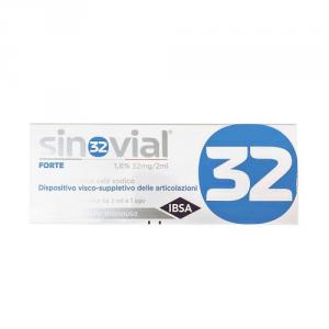 Ibsa Sinovial forte siringa 1,6% 32 mg/2 ml