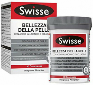 Swisse Bellezza Della Pelle Con Acido Ialuronico E Collagene