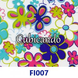 Pellicola per Cubicatura Fiori Multicolor
