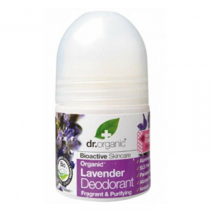 Dr Organic Lavender Deodorant Roll On 50ml