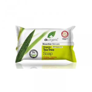 Dr Organic Tea Tree Soap 100ml