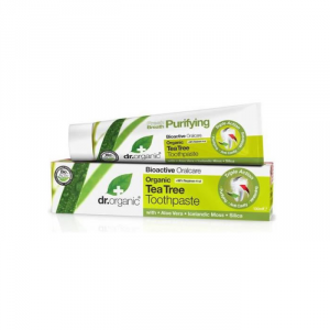 Dr Organic Tee Tree Toothpaste 100ml