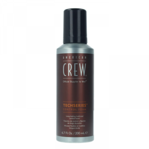 American Crew Techseries Long Lasting Hold And Control Foam 200ml