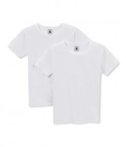 2 T-Shirt bianche, 3A-8A
