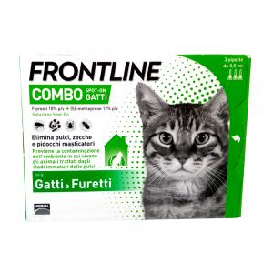 FRONTLINE COMBO GATTI - antiparassitario in pipette
