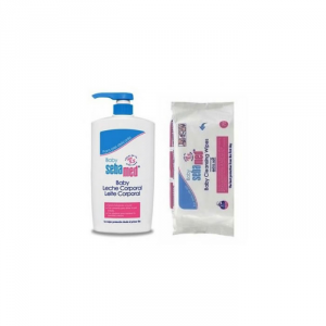 Sebamed Baby Latte Corpo 750ml Set 2 Parti