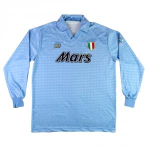1990-91 Napoli Maglia Home L (Top)