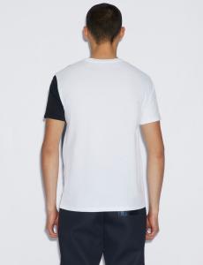 T-shirt uomo ARMANI EXCHANGE con macro stampa