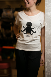 T-shirt donna Pepita polipo