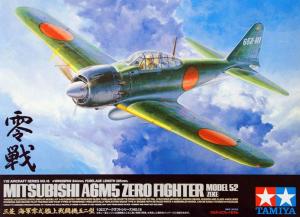 A6M5 Zero Fighter Model 52