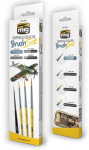 CHIPPING & DETAILING BRUSH SET
