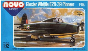 GLOSTER WHITTLE E28-39 PIONEER