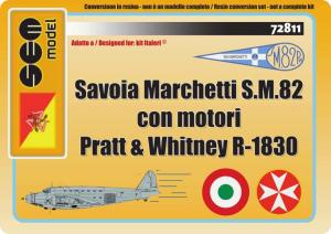 Savoia Marchetti S.M.82 motorizzato P. & W.