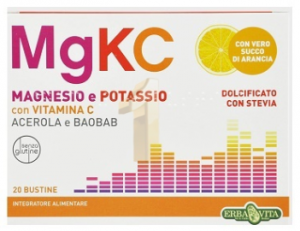 MgKC MAGNESIO & POTASSIO con VITAMINA C BAOBAB e ACEROLA