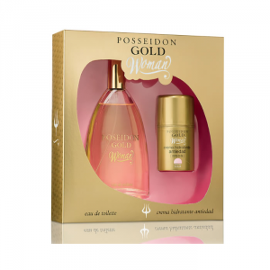 Instituto Español Posseidon Gold Woman Eau De Toilette Spray 150ml Set 2 Parti 2019