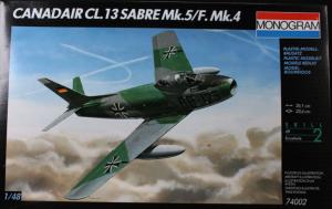 CANADAIR CL.13 SABRE Mk.5/F.Mk.4