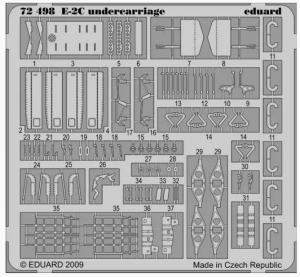 E-2C UNDERCARRIAGE (HASEGAWA)