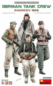 GERMAN TANK CREW. KHARKOV 1943