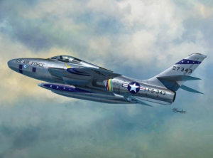 RF-84F Thunderflash (ITA,BE,USAF,NL decals)