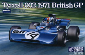 TYRRELL 002 BRITISH GP