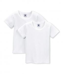 2 T-Shirt bianche, 10A-18A