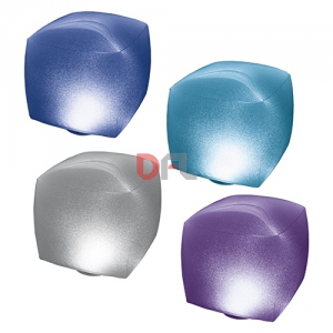 Luce galleggiante cubica per piscina