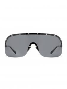 Italia Independent - Occhiale da Sole Unisex, Avvocato, Black/Gradient Full Grey 001LP  C62