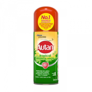 Autan Tropical Repellente Spray A Secco 100ml