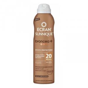 Ecran Sunnique Broncea+ Lotion Spf20 Spray 250ml