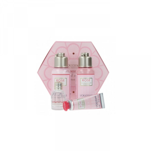 L'Occitane Rose Body Lotion 75ml Set 4 Parti 2019