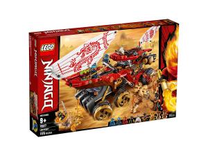 LEGO NINJAGO BOUNTY DI TERRA 70677