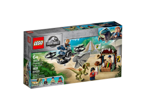 LEGO JURASSIC PARK DILOFOSAURO IN FUGA 75934