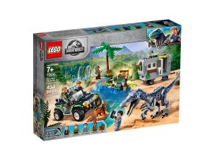 LEGO JURASSIC PARK FACCIA A FACCIA CON IL BARYONYX: CACCIA AL TESORO 75935