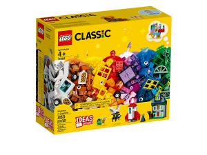 LEGO CLASSIC LE FINESTRE DELLA CREATIVITA' 11004
