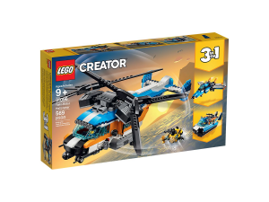 LEGO CREATOR ELICOTTERO BI-ROTORE 31096