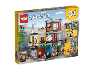 LEGO CREATOR NEGOZIO DEGLI ANIMALI & CAFE' 31097