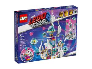 LEGO THE LEGO MOVIE 2 - REGINA WELLO KE WUOGLIO E IL PALAZZO SPAZIALE 'MEZZO MALVAGIO' 70838