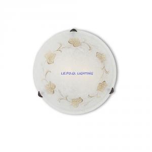 PLAFONIERA CLASSICA FOGLIA PL2 IDEAL LUX d.40
