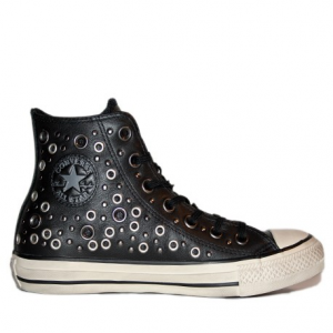 Scarpa donna CONVERSE CHUCK TAYLOR ALL STAR HI DISTRESSED PELLE