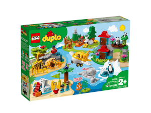 LEGO DUPLO ANIMALI DEL MONDO 10907