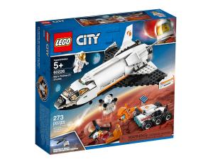LEGO CITY SHUTTLE DI RICERCA SU MARTE 60226